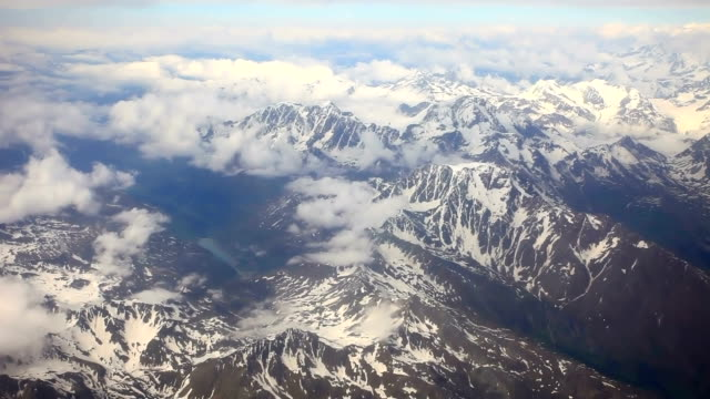 flying beyond Alps video