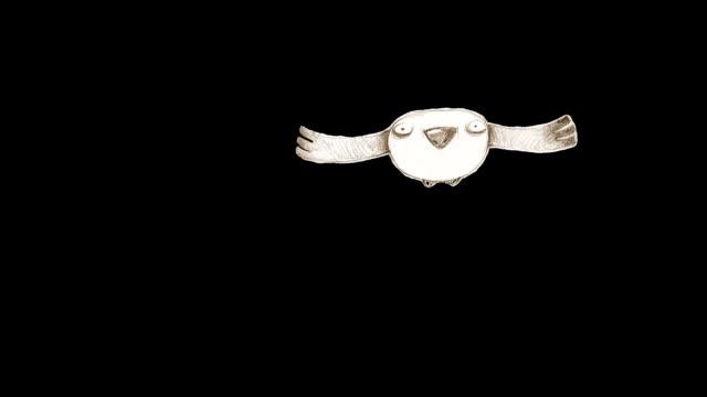 flying bird - animal doodle bildbanksvideor och videomaterial från bakom kulisserna