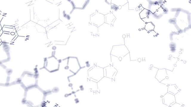 Flying chemical formulas video