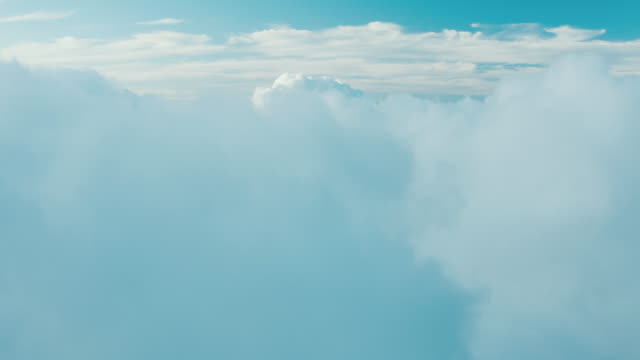 Flying in the clouds video