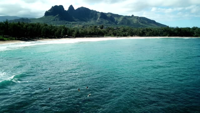 Flying Next to Maui Island by Drone Above Coastline video