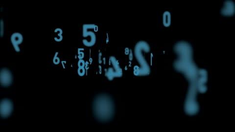vidéos et rushes de numéros de vol - nombre