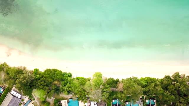 Flying over Anse Beau Vallon  - Mahe - Seychelles video