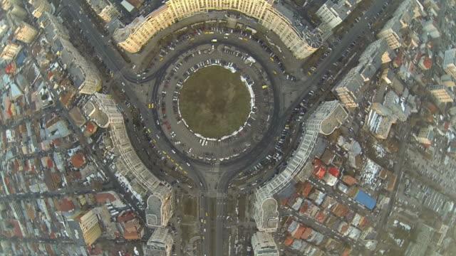 Flying Over Bucharest video