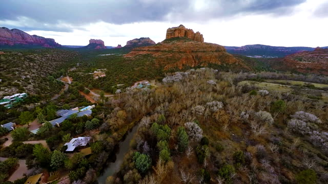 Flying over Red Rocks video