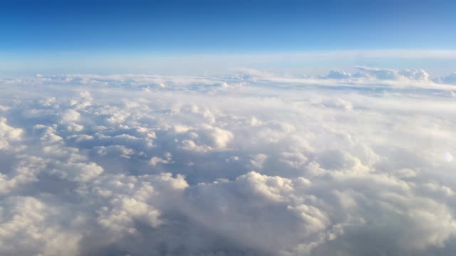 HD: Flying over the clouds video