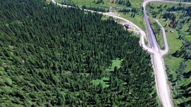 フライングの山 - シベリア点の映像素材/bロール
