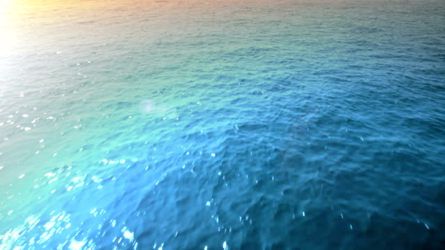 Flying Over The Sea. HD video