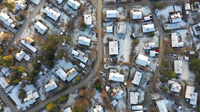 flyga över villa området, vinter - sweden map bildbanksvideor och videomaterial från bakom kulisserna