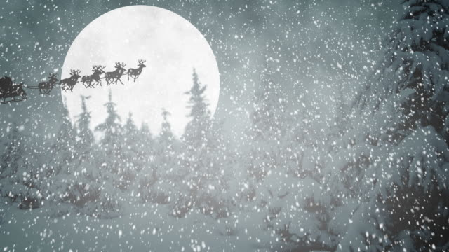 Flying Santa Claus – Video