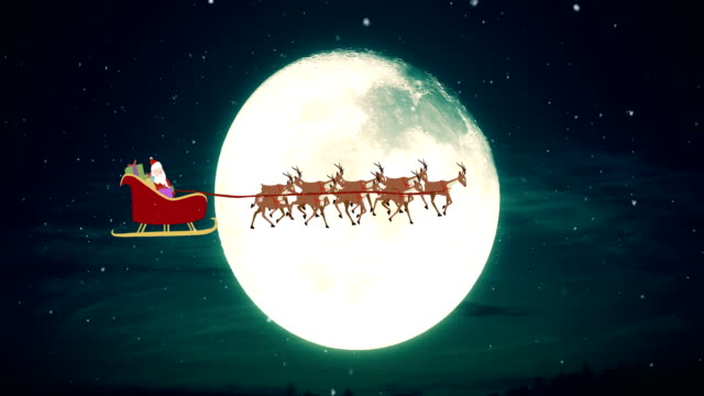 Flying Santa Claus - vídeo