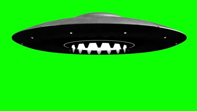 Flying saucer video