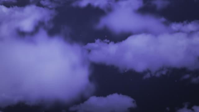 雲フライをご利用ください。コピースペースを備えております。 - 層積雲点の映像素材/bロール