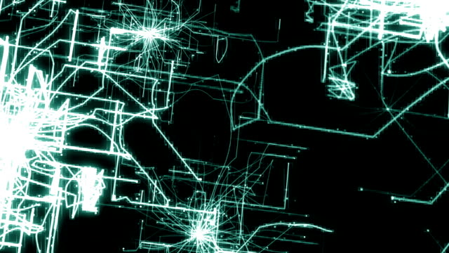 Flying through Internet Data Network, Animation video