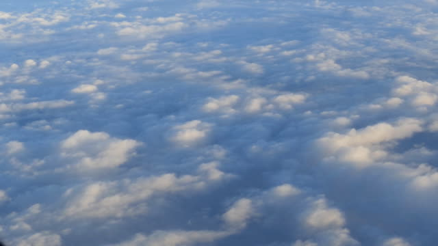 Flying through sky and clouds. video
