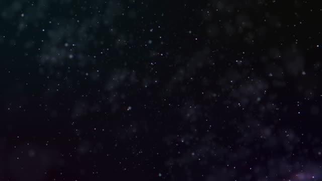 flying through star fields in space - układ słoneczny filmów i materiałów b-roll