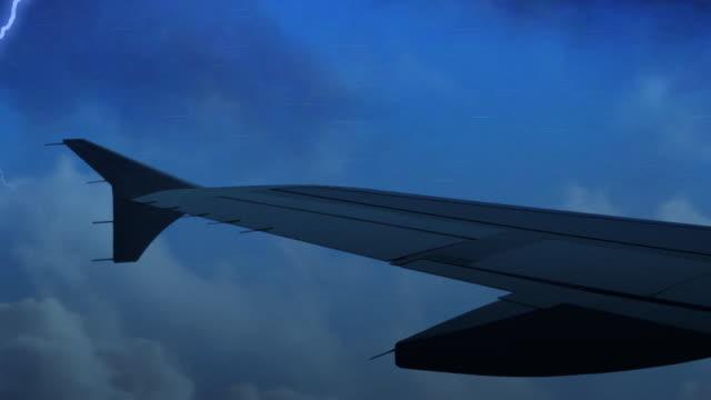 Flying Through Storm video