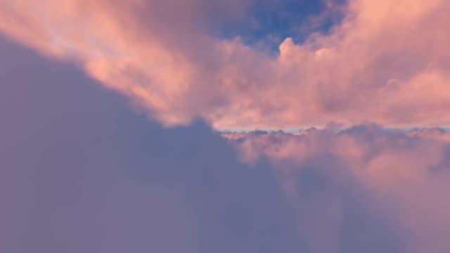 Durch Sonnenuntergang fliegen – Video