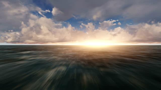 Fliegen durch die Wolken (Loopable) – Video