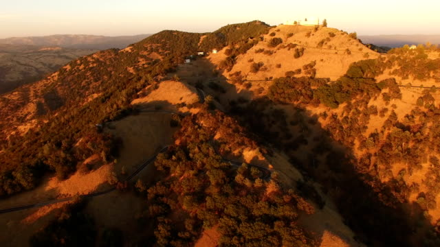 Flying Toward Top of California Hill video