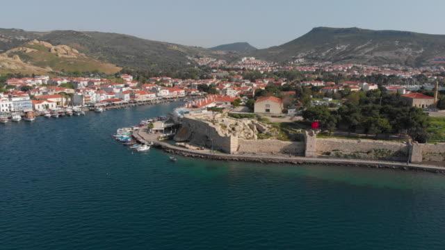 foca, izmir, turcja - morze egejskie filmów i materiałów b-roll