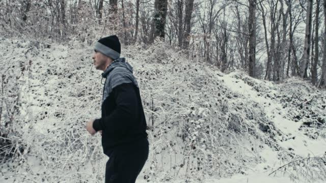 fokuserade på utbildning - jogging hill bildbanksvideor och videomaterial från bakom kulisserna