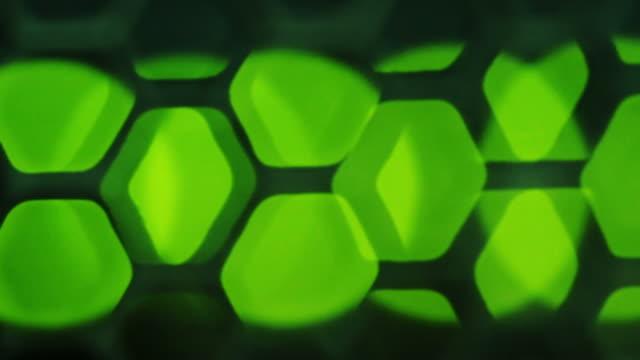 Focusing green lights on network server video