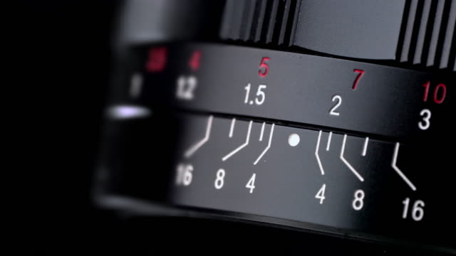 Focusing system of photography lens of camera rotation in close-up