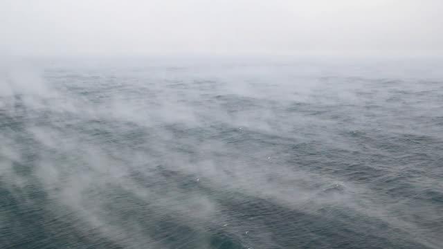 Bидео Туман и море