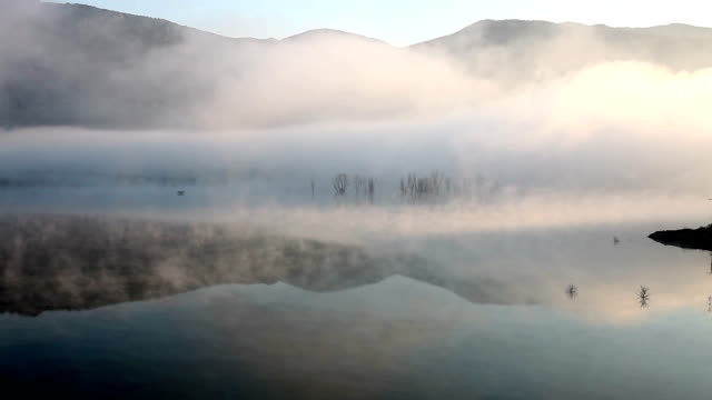 Fog on the Lake video
