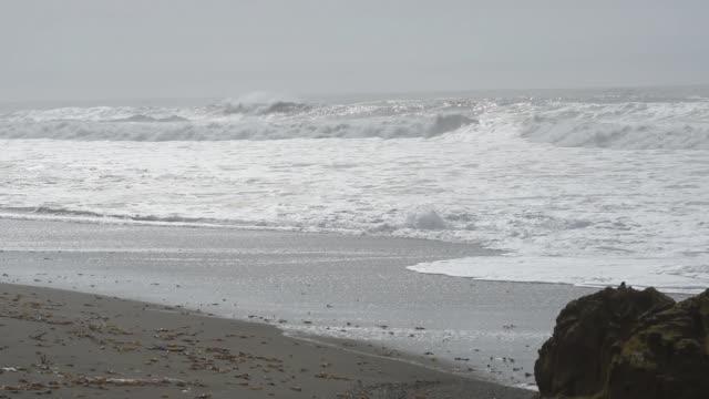 Foggy Big Sur Waves video