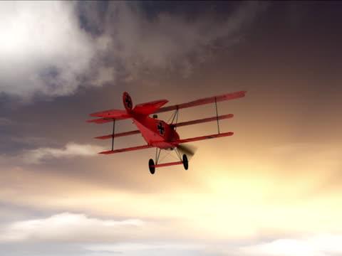 vidéos et rushes de fokker dr.1, le baron rouge - triplan