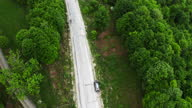 istock following the car from above 1297410383