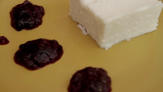 Food dish dessert video