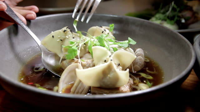 Food dish video