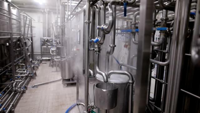 matfabriken inuti - livsmedelstillverkningsfabrik bildbanksvideor och videomaterial från bakom kulisserna