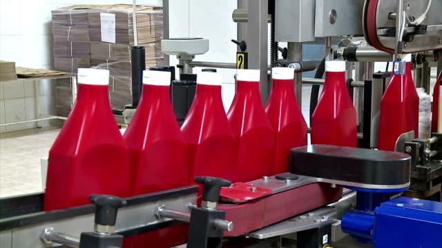 питание завод - завод по переработке пищевых продуктов стоковые видео и кадры b-roll