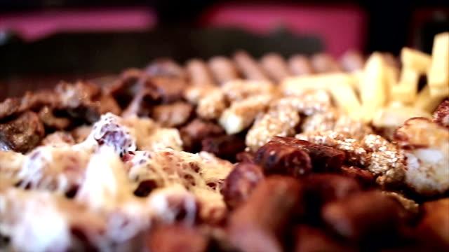vídeos y material grabado en eventos de stock de comida en el bar - comida española