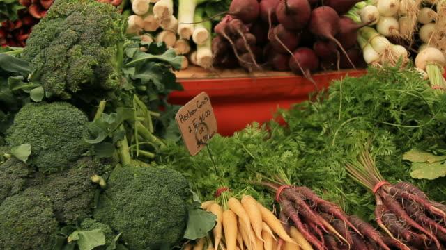 Food Market Organic Vegetarian video
