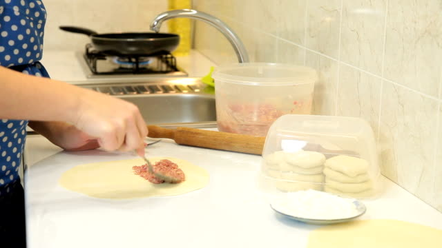 Food Preparation - Chebureki video