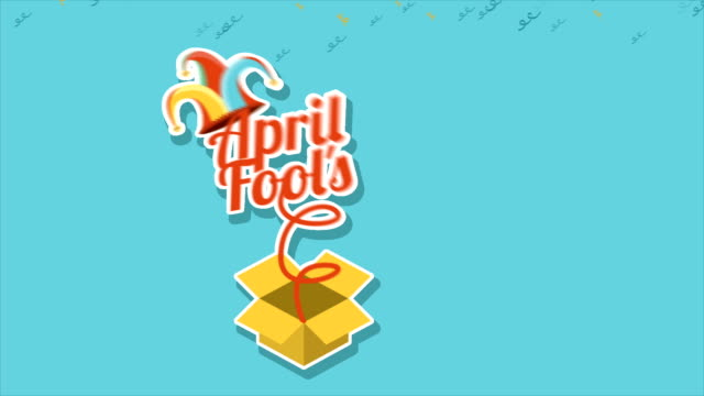 Fools day Video animation video