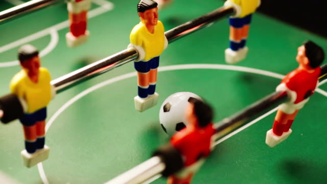 Foosball game video