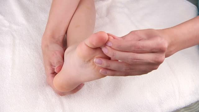 foot massage video