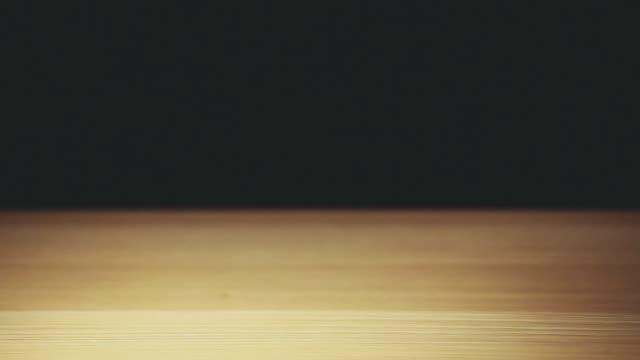 footage of money dark background
