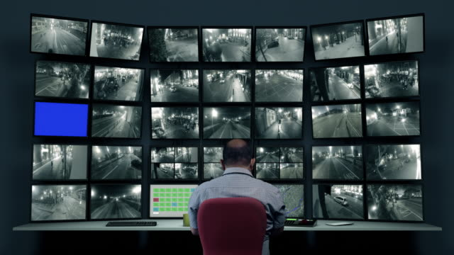 CCTV footage CCTV footage security staff stock videos & royalty-free footage