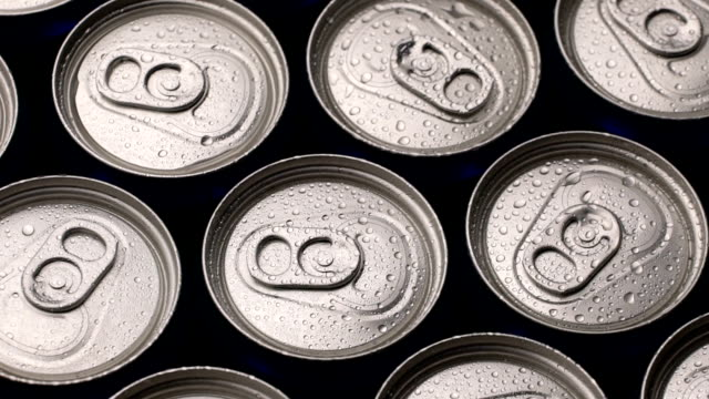 footage water droplets on can of soda or beer rotate background footage water droplets on can of soda or beer rotate background. Slow motion video soda stock videos & royalty-free footage