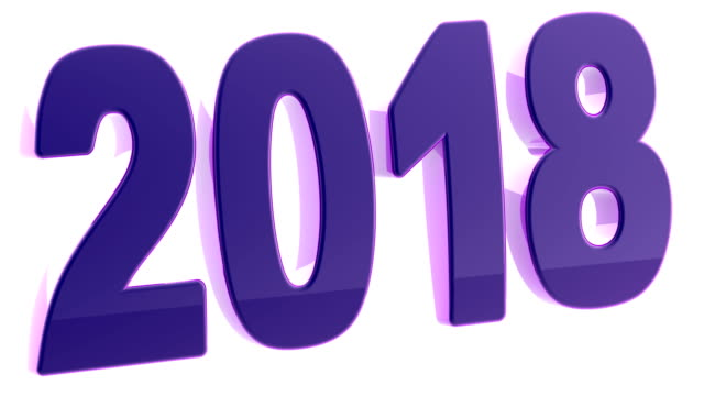 2018. footage mit 4k auflösung hat alpha-kanal. - kalender icon stock-videos und b-roll-filmmaterial