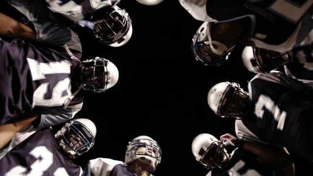 Football Huddle video