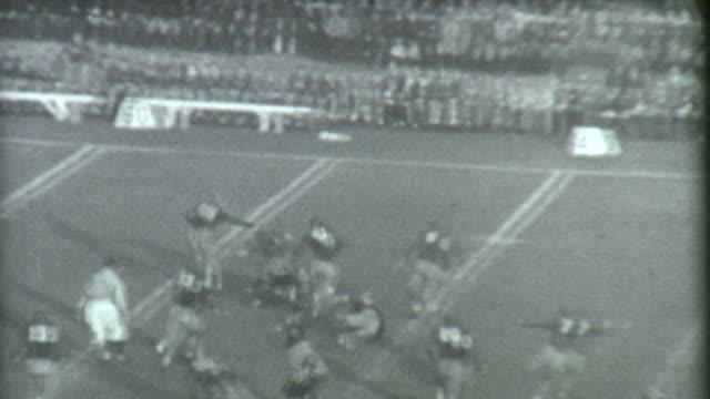Football Run Archival video