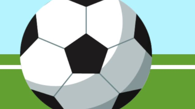 football soccer balloon and arch video
